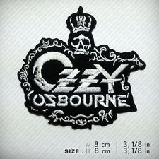 Ozzy Osbourne Embroidered Patch, Prince of Darkness Heavy metal Blues rock, Doom