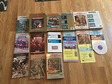 Advanced Dungeons & Dragons LOT 5 games (2 Sealed) and 5 Clue books FREE SHIP