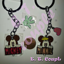 2PC Mickey Minnie adorable Love party cell phone strap pendant Disney keyring