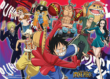 One Piece New World Group Wall Scroll Poster (U.S. Customers Only) NEW