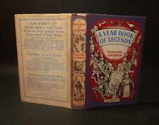 1954 Christine Chaundler A YEAR-BOOK OF LEGENDS 1st Edn Illustrated H/B D/W