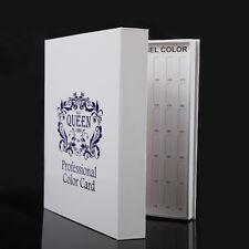 120 Colors Card Display Board  Book Chart Nail Gel Polish for Nail Art Salon S5