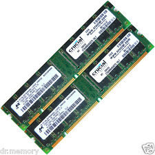 1GB (2x512MB) DDR 133 Mhz PC133 168pin Desktop Memory RAM Non ECC Unbuffered
