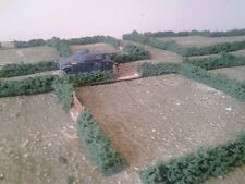 40 pieces of Hedging suitable for 20mm WW2, WW1, Flames of War, Rapid fire, ECW