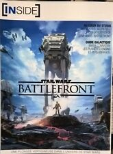 Collector Artbook inside STAR WARS Battlefront 4 Ps4 Xbox one Pc Neuf goodies