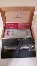 Caran D'ache Various Ivanhoe Silver Plated Medium Nib Fountain Pen