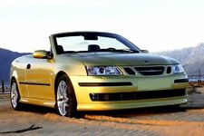 SAAB 9-3 93 , CONVERTIBLE , CABRIO - BODY KIT SPOILERS - AERO look  !!! NEW !!!