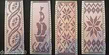 9 punch cards for Brother Knitting Machines SingerSilver