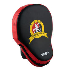 Muay Thai MMA Training Boxing Mitt Glove Karate TKD Kick Target Punch Pad Red
