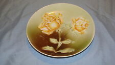CHINA SMALL PLATE MADE IN GERMANY WITH YELLOW ROSE
