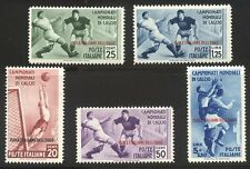 ITALY / AEGEAN IS. #31-35 Mint LH - 1934 Soccer Issue