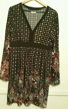 Crossroads Multi-coloured Stretch  Dress size XXL Pre-owned