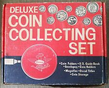VINTAGE WHITMAN DELUXE COIN COLLECTING KIT FROM 1967