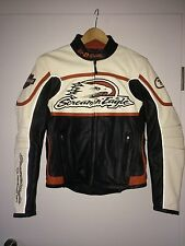 RARE Authentique Blouson Harley Davidson Racing Screamin Eagle M US Femme Woman