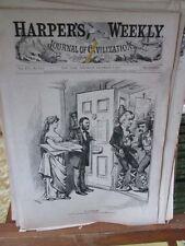 Vintage Print,NO SURRENDER,Harpers,Nast,1872