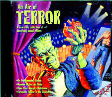 AN AIR OF TERROR: SPOOKY HALLOWEEN HAUNTED HOUSE SOUND EFFECTS & EERIE MUSIC NEW