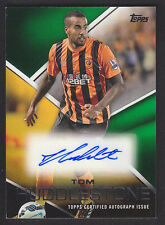 Topps Premier Gold 2014 - Autograph Card - Tom Huddlestone - Hull - Green 89/99