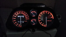 WHITE CBR1000F HURRICANE 87 - 89  led dash clock conversion kit lightenUPgrade