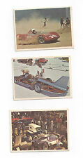 6 1966 SPEC SHEET HOT ROD MAGAZINE CARDS