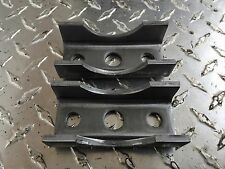 """(2) Trailer axle spring perch/seat for 2-3/8"""" 3500# Round axel tube mount 3.5K"""
