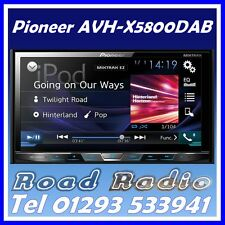 "PIONEER avh-x5800dab - 7 ""double din DAB +, bluetooth, contrôle direct, dvd, usb"