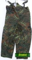 GERMAN ARMY GORETEX OVER TROUSERS & BRACES FLECKTARN WATER PROOF 56/58