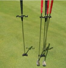 2 New golf butler buddy club dry grip stick irons putter holder stand caddy gift