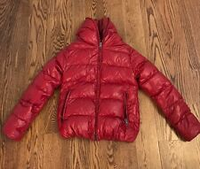 Women's DUVETICA Thiacinque Quilted Down Coat, Size 44, Garnet Red