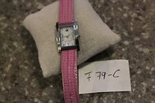 Tommy Hilfiger MOP Dial Stainless Steel Pink Leather Ladies Watch F79-C