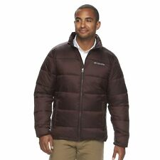 Columbia Men's S SMALL SM Rapid Excursion Thermal Coil Puffer Jacket NEW CINDER