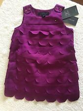 【NWT】 Tommy Hilfiger sleeveless baby girl layered dress_Purple_size 18 months