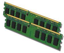 PC Arbeitsspeicher RAM 2x 1GB DDR2 PC2-6400 800MHz 240-pol. DIMM SDRAM