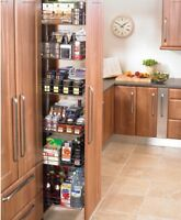 300MM WIDE PULL OUT LARDER UNIT - 1680 TO 2175 MM HIGH