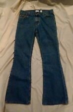 Calvin Klein Women's Light Wash Blue Denim Flare Jeans Size 7