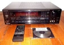 SONY STR AV1020~2-Channel 250 Watt Receiver Bundle w/Remote & Manuals~TESTED~