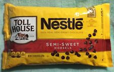 Nestle Toll House Semi-Sweet Chocolate Morsels  baking cookie chips  4.5 lbs