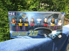 Star Trek The Next Generation 25~ 8 Piece Set Pez Dispensers 2012`Factory Sealed
