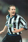 KEVIN GALLACHER Signed In Person 12x8 Photo NEWCASTLE UNITED Photo Proof COA
