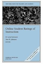 J-B TL Single Issue Teaching and Learning Ser.: Online Student Ratings of...