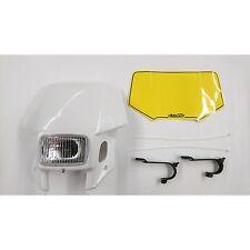 Calandre phare arrière  pour 400 ccm HONDA XR 400 blanc avec Projecteurs CEMOTO
