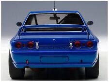 AUTOArt 1/18 Nissan Skyline GT-R (R32) Plain Body Version Blue 89281