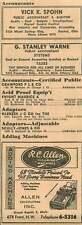 1946 Vick K Spohn Accountant Dayton Rc Allen Calculators Inc Grand Rapids Ad