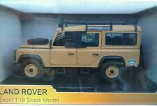 1:18 LAND ROVER DEFENDER EXPEDITION 110 4X4 VERY RARE (BRAND NEW) SEALED