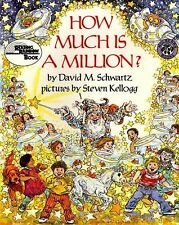 How Much Is a Million? by David M. Schwartz c1985, SIGNED VGC Hardcover