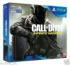 Sony PlayStation 4 PS4 Slim 500GB Console + Call of Duty Infinite War Game NEW