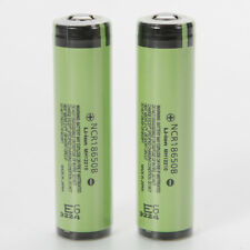 New 2X NCR18650B 3.7V 3400mAh Rechargeable Battery PCB Protected for PANASONIC
