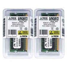 8GB KIT 2 x 4GB SODIMM DDR3 NON-ECC PC3-10600 1333MHz 1333 MHz DDR-3 Ram Memory