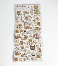 Rilakkuma Stickers - Rilakkuma Cat Style 2 San-X Kawaii Japan UK