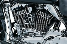 Kuryakyn 7260 Chrome Slotted Head Bolt Covers Harley Dresser 1999-2016