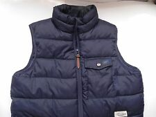 CPO~Urban Outfitters~Navy Blue Puffy Quilted Vest XS~LN